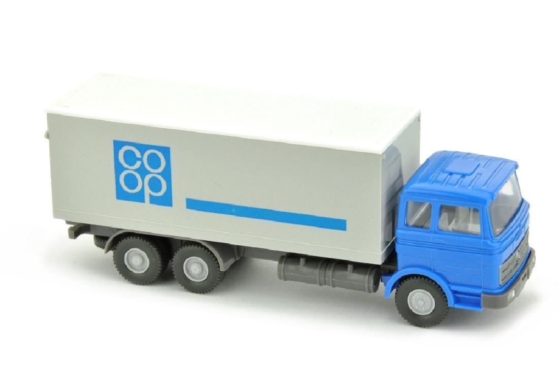 Koffer-LKW MB 2223 Coop, himmelblau