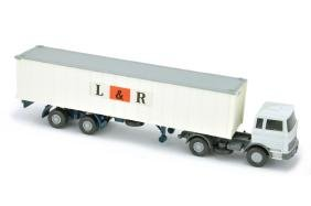 Container-LKW MB 1620 L & R