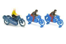 Lego - Konvolut 3 Motorradfahrer