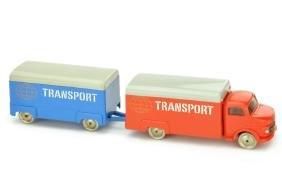 Lego - Kofferzug MB 1413, rot/blau