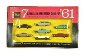 """Revell - Sortiment """"7 Chrysler cars for 1961"""""""