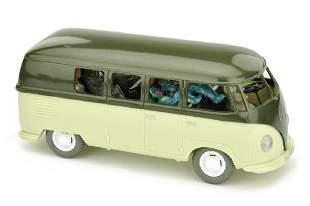 VW Bus Typ 2 olivgruenhellgruenbeige 2Wahl
