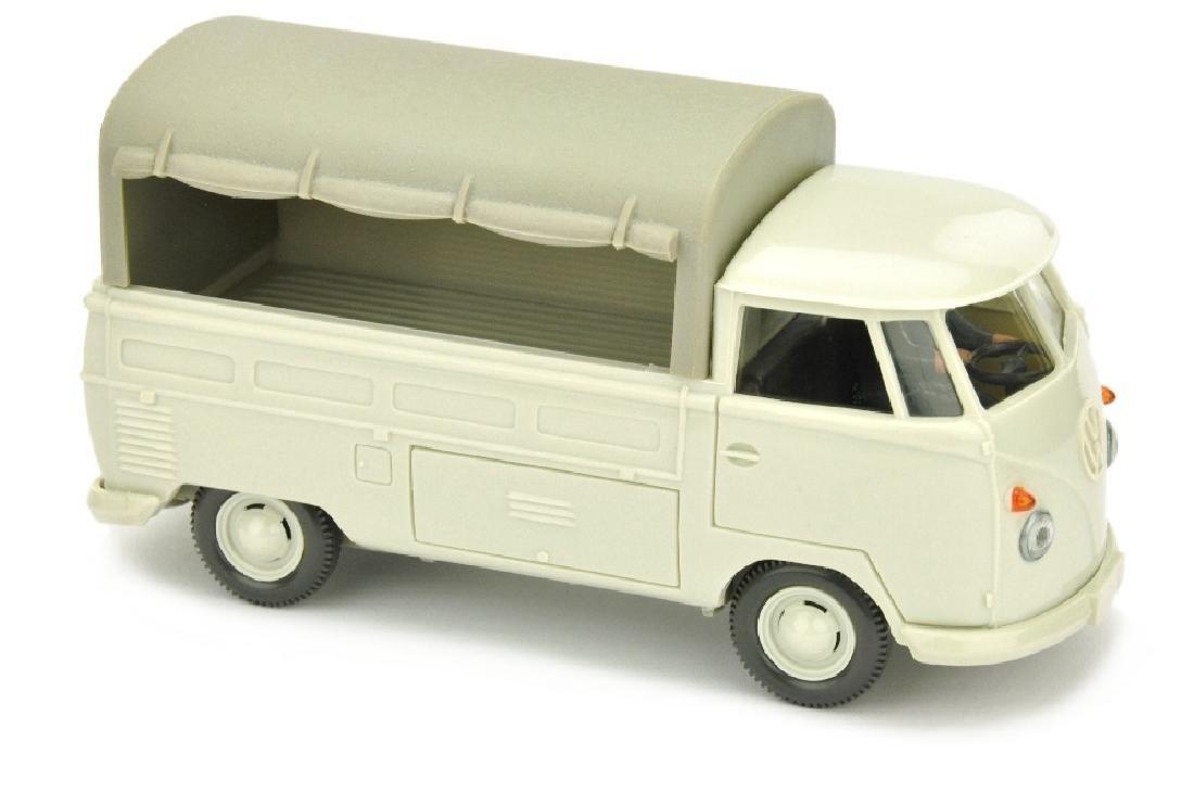 VW Pritsche (Typ 2), perlweiss (2.Wahl)