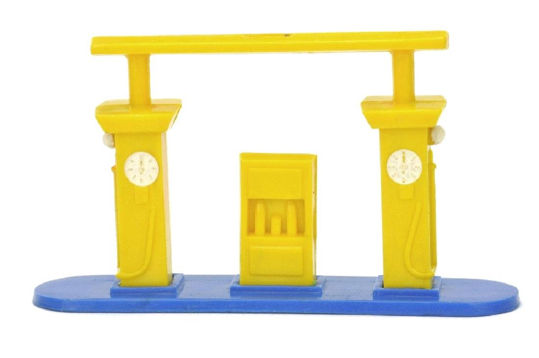 Kleine Tankstelle (Typ 1), gelb/ultramarin