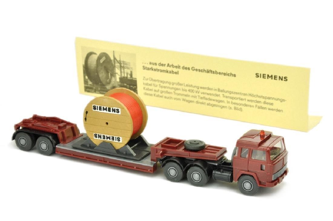 Siemens/3A - Tieflader Magirus 235 D