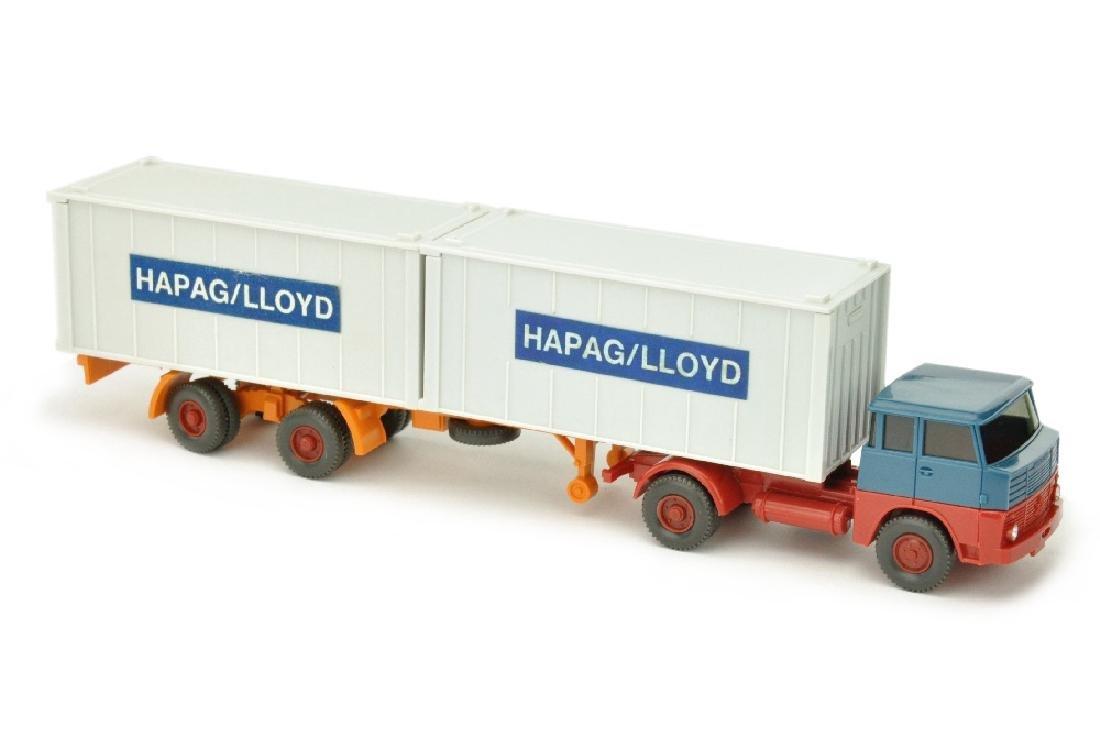Hapag-Lloyd/6B - Henschel HS 14, azurblau/rot