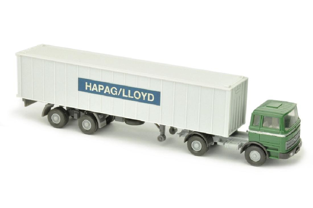 Hapag-Lloyd/2KK - MB 1620, diamantgruen