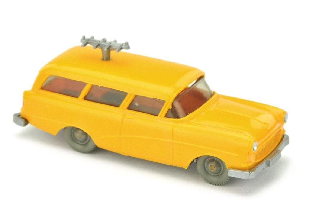 Opel Funkmesswagen, chromgelb