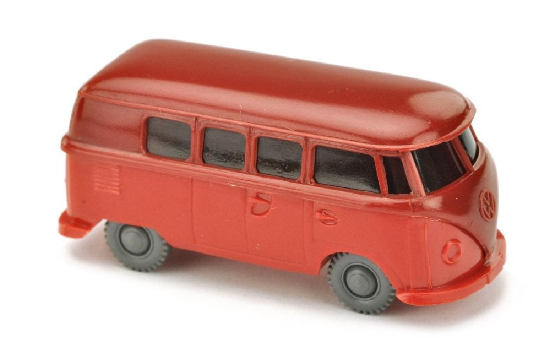 VW T1 Bus (alt), weinrot/rot