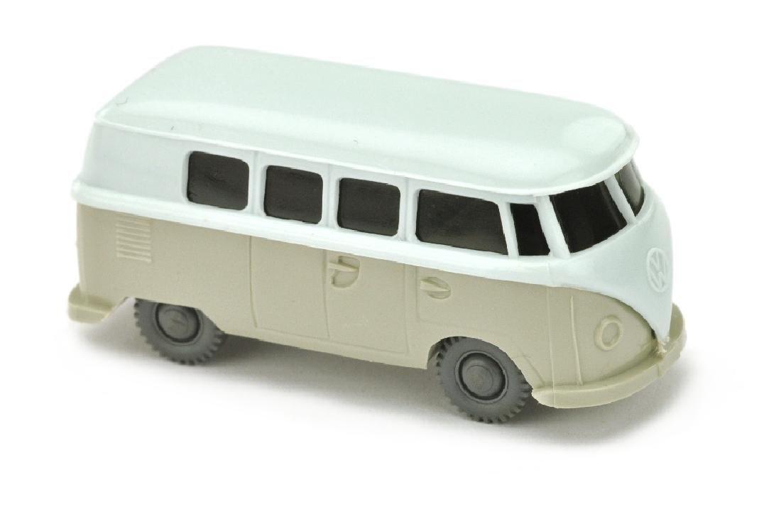 VW T1 Bus (alt), blaeulichweiss/kieselgrau