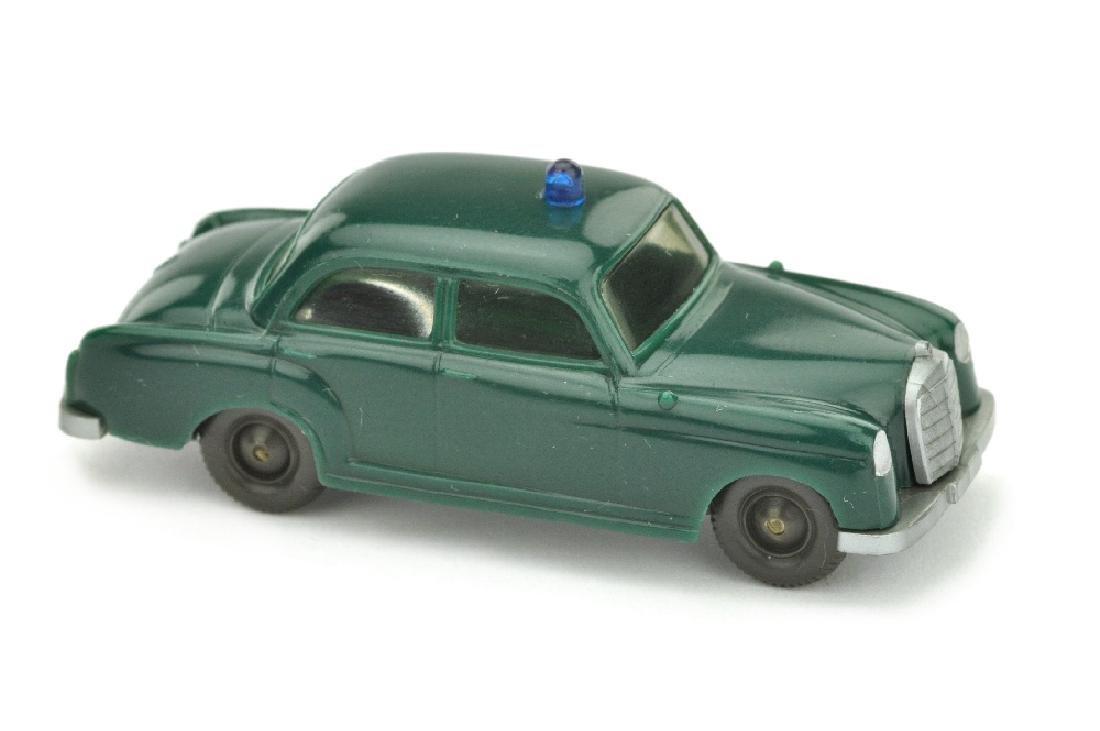 Polizeiwagen MB 180, blaugruen (Version /4)
