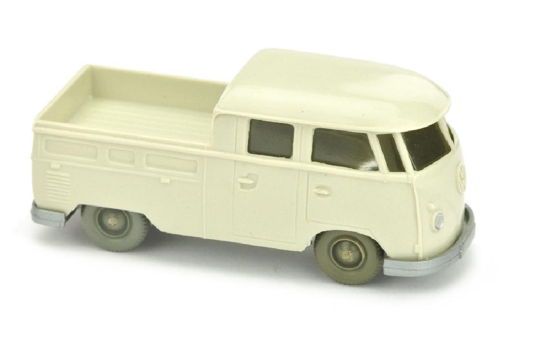 VW T1 Doppelkabine, perlweiss