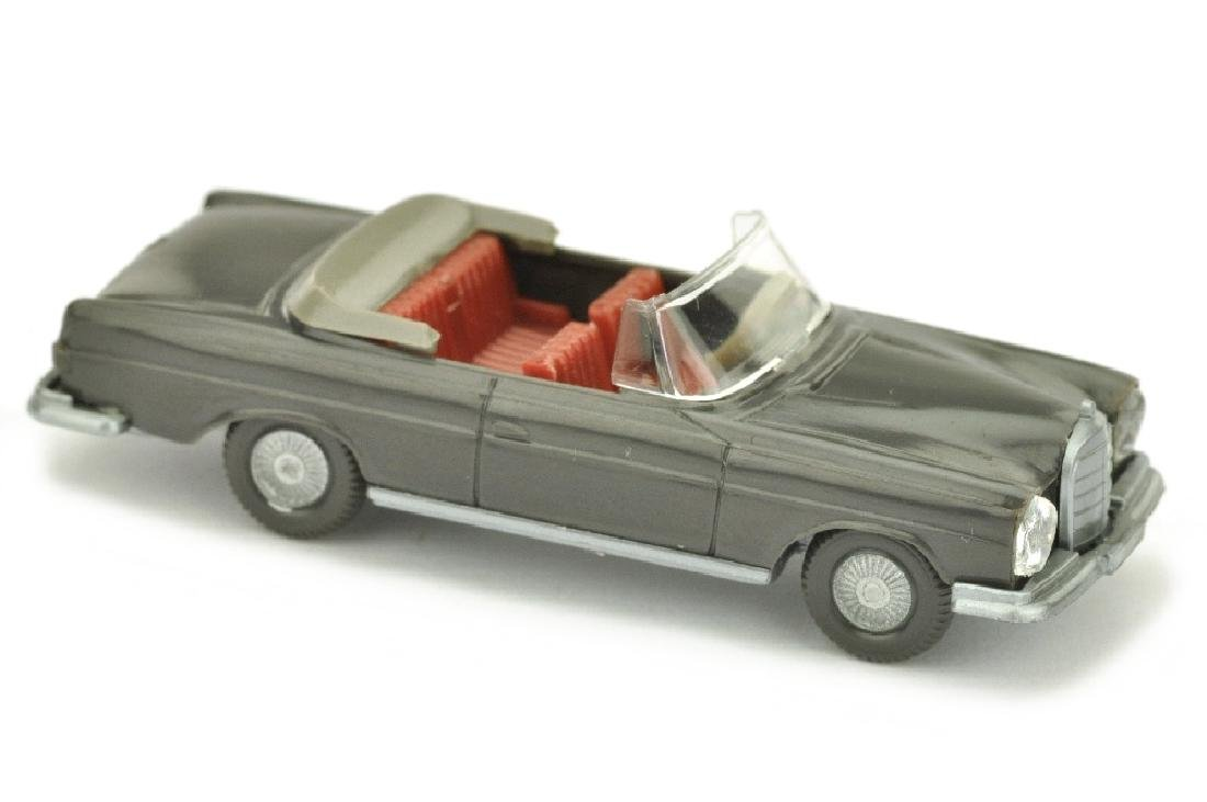 Mercedes 280 SE Cabrio, anthrazit