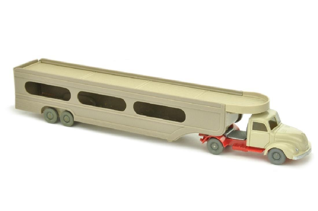 PKW-Transporter Magirus, h'gelbgrau/rot (mit OPS)