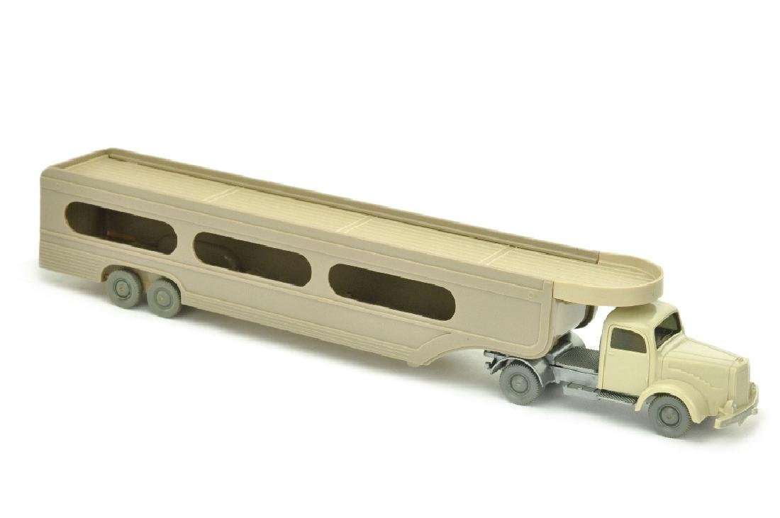 PKW-Transporter MB 5000, h'gelbgrau/silbern