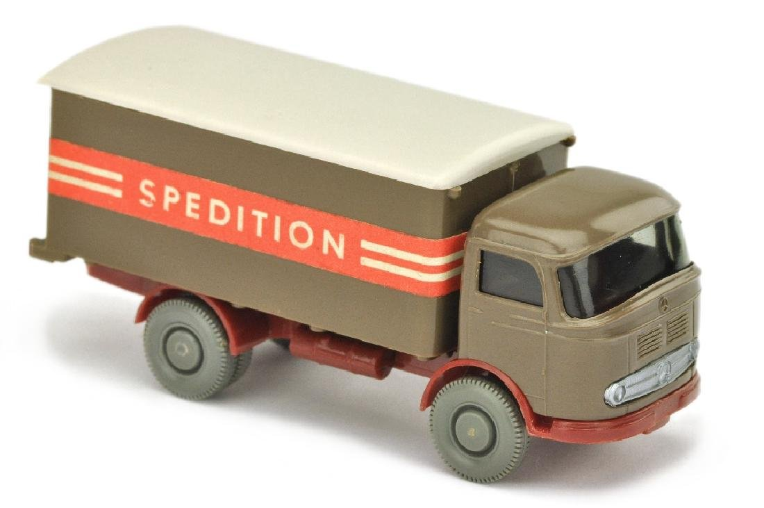 Koffer-LKW MB 321 Spedition