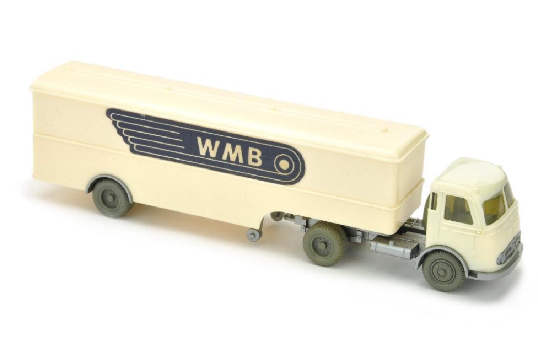 Koffer-Sattelzug Pullman WMB, cremeweiss