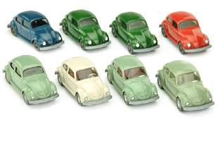 Konvolut 8 VW Kaefer Typ 5 und 6