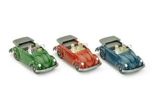 Konvolut 3 VW Kaefer Cabrio Typ 2