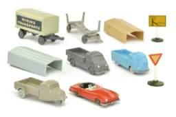 Konvolut 64 Modelle der 50er Jahre