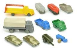 Konvolut 103 unverglaste Modelle