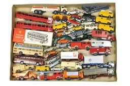 Konvolut 51 Modelle der 70er/80er Jahre