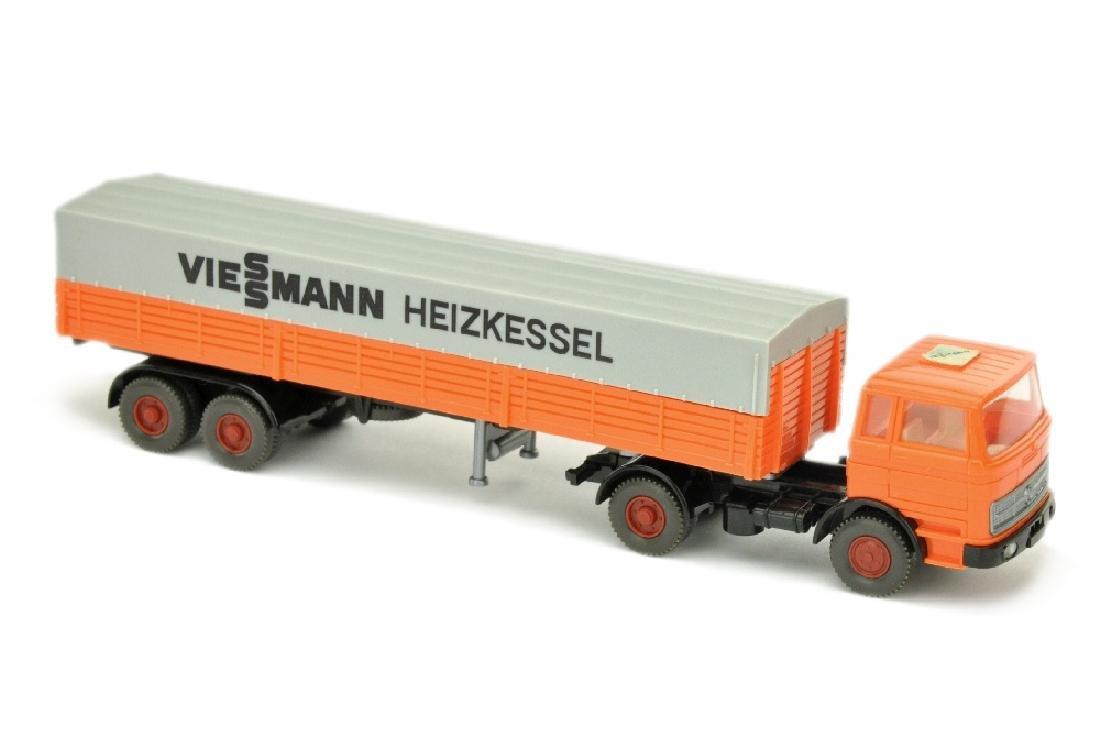 Werbemodell Viessmann/2D - MB 1620 hellorange