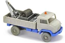 Unimog Werkstattwagen dsilbergrauultramarin