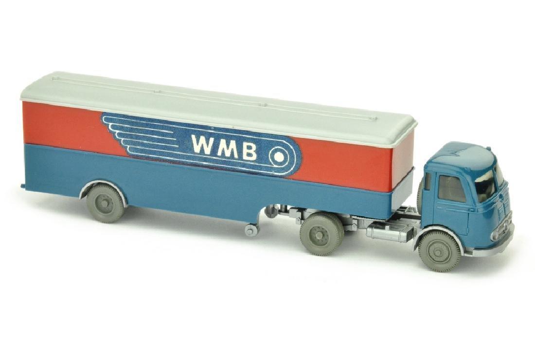 Koffer-Sattelzug Pullman WMB