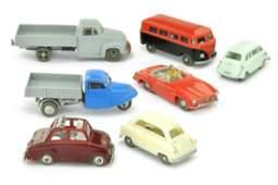 SIKU  Konvolut 7 Modelle der 50er Jahre