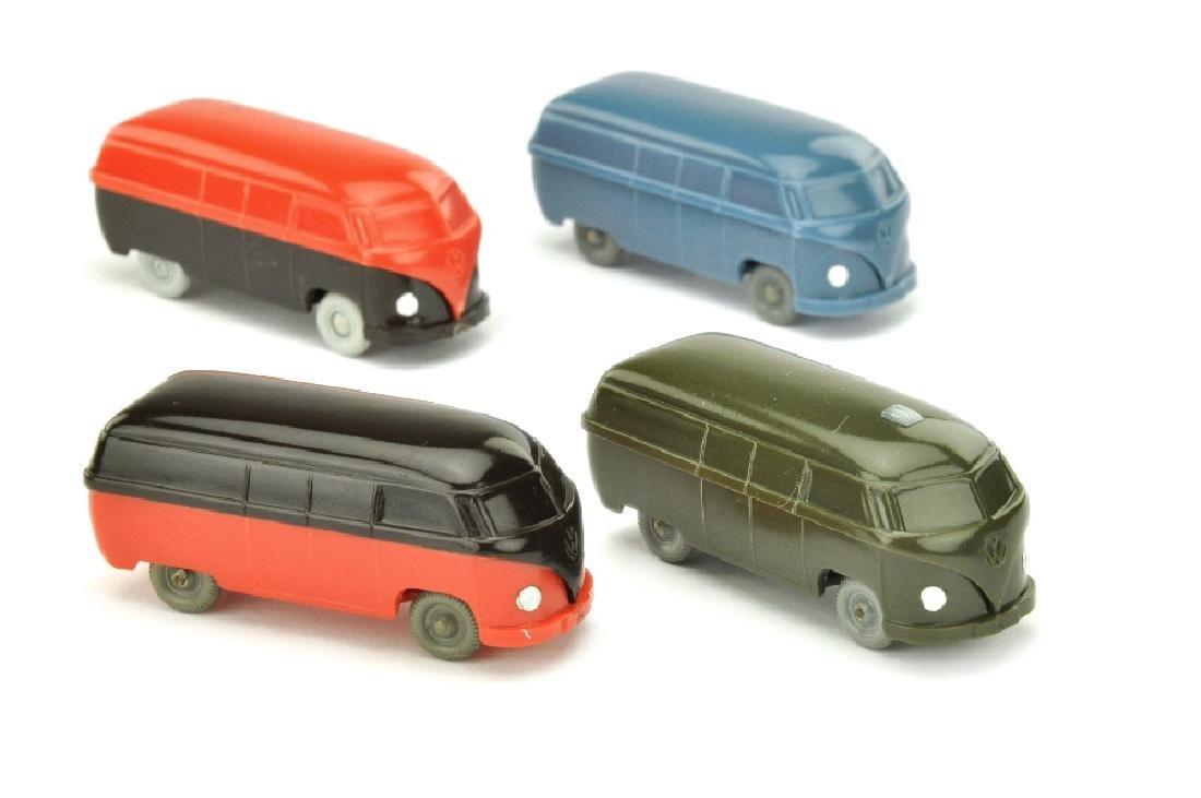 Konvolut 4 unverglaste VW Kasten (Typ 3)