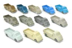 Konvolut 12 unverglaste DKW Schnelllaster