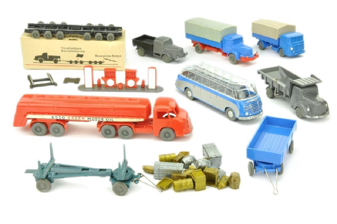 Konvolut 9+23 Modelle der 50er Jahre