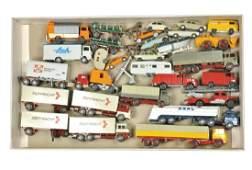 Konvolut 27 Modelle der fruehen 70er Jahre