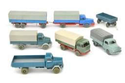 Konvolut 7 Modelle der 60er Jahre
