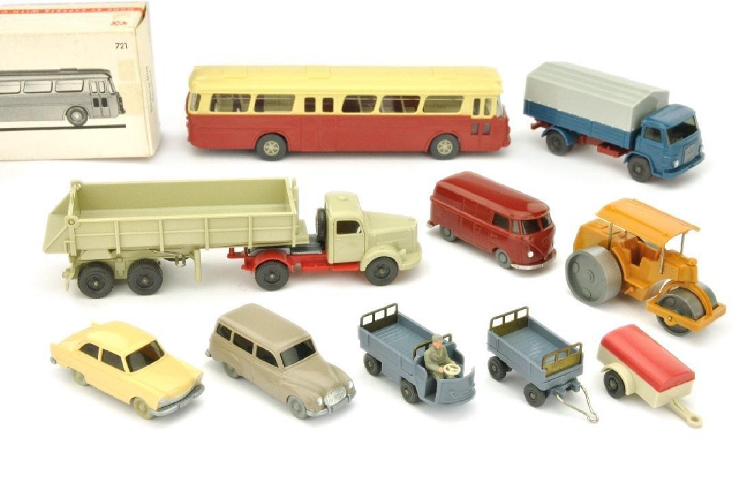 Konvolut 10 Modelle der 60er/70er Jahre