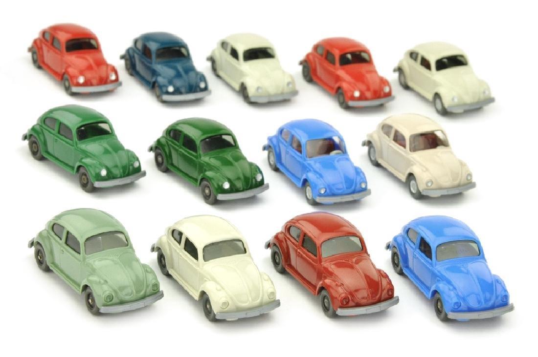 Konvolut 13 VW Kaefer (Typ 6 und 7)