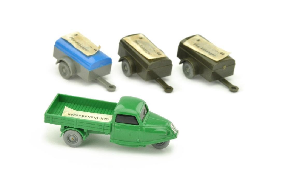 Konvolut 4 Modelle der 60er Jahre (mit OPS)