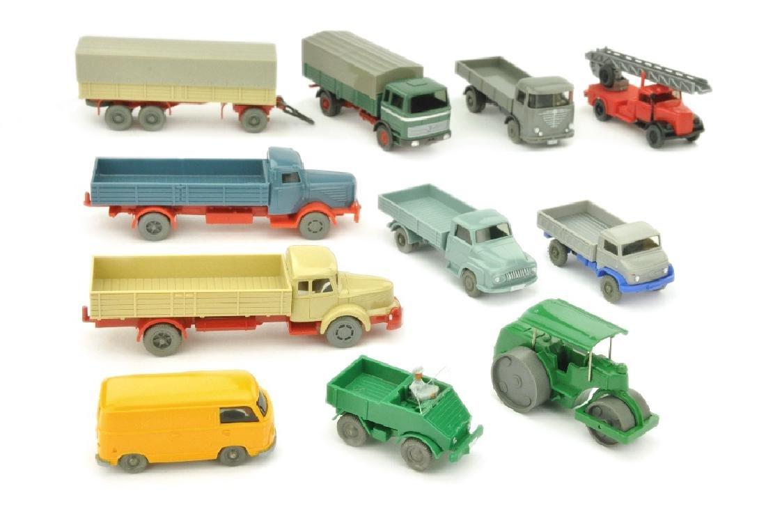 Konvolut 10+1 Modelle der 60er Jahre