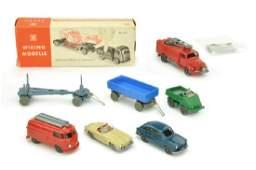 Konvolut 73 Modelle der 60er70er Jahre