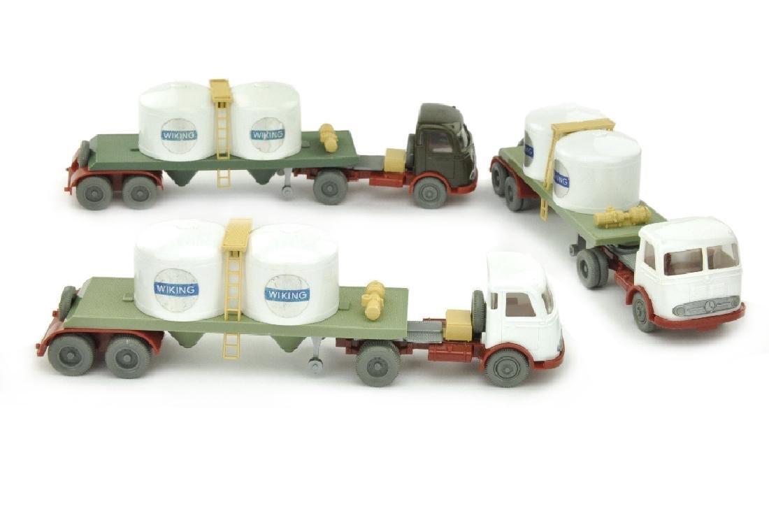 Konvolut 3 Chemikalien-Tankzuege Pullman