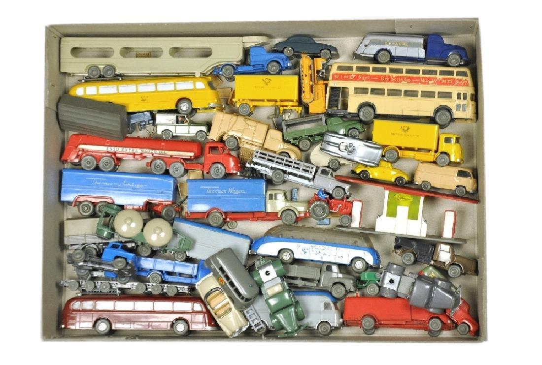 Konvolut ca. 39 Modelle der 50er/60er Jahre