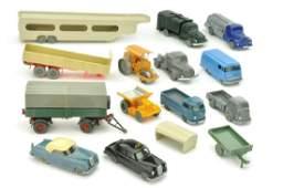 Konvolut ca 14 Modelle der 50er60er Jahre