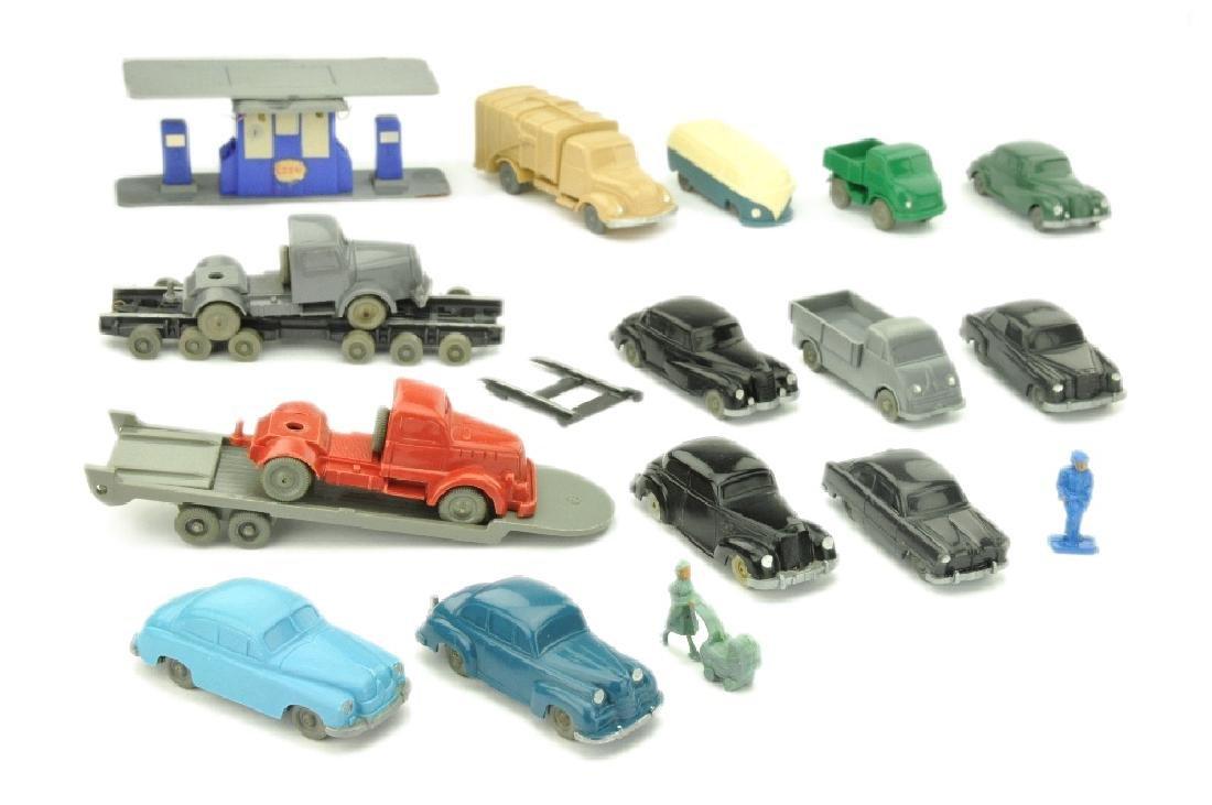 Konvolut 14 Modelle der 50er Jahre