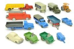 Konvolut 13 Modelle der 50er60er Jahre