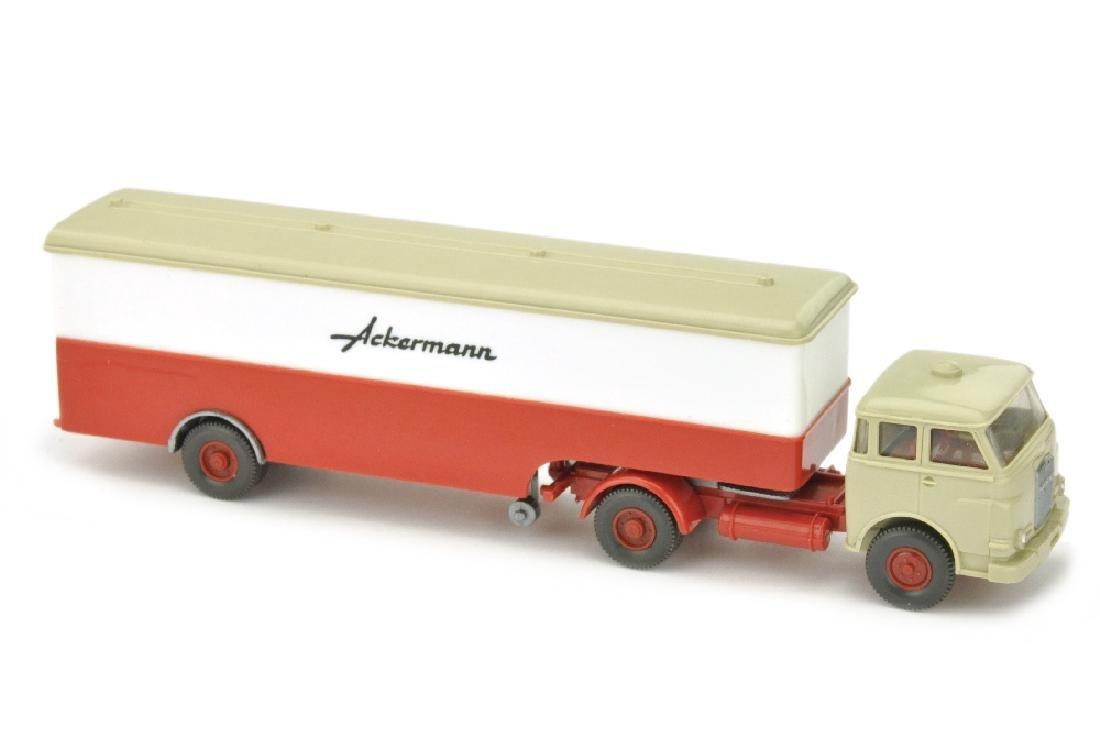 Ackermann/3A - MAN 10.230, weiss/rot
