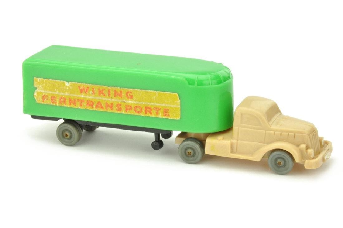 Sattelzug White Typ 1 Ferntransporte, froschgruen