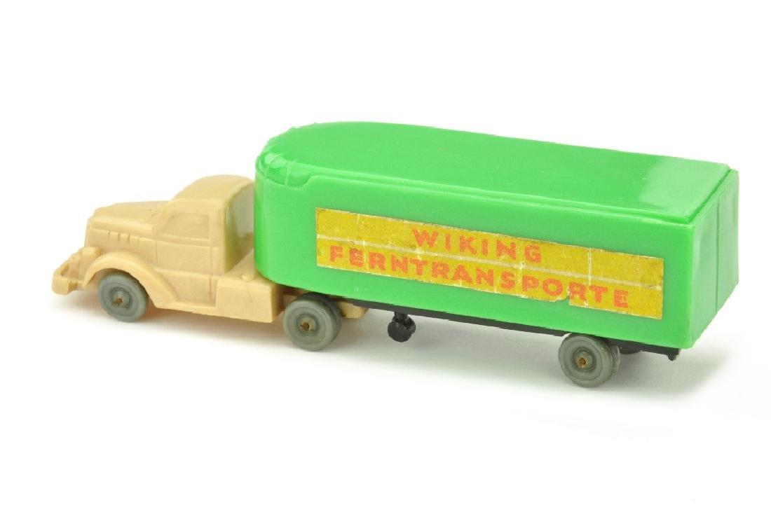 Sattelzug White Typ 1 Ferntransporte, froschgruen - 2