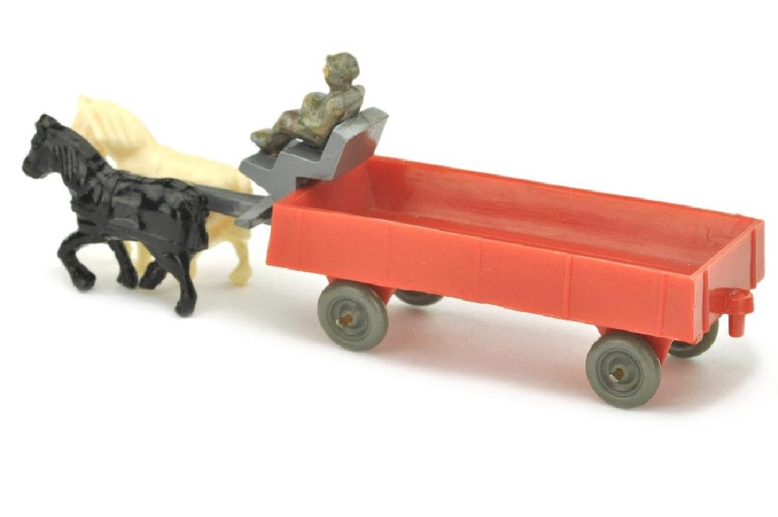 Pferdekutsche (Typ 2), orangerot - 2