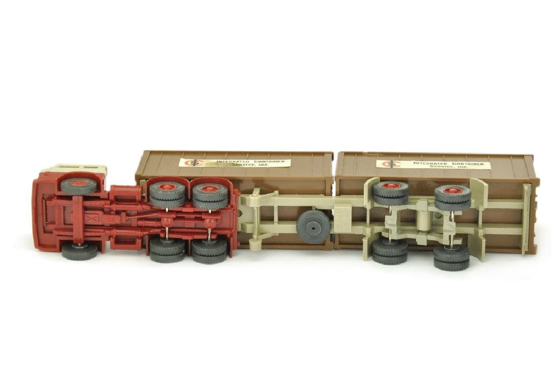 Werbemodell ICS/B - 2*20ft-Container lehmbraun - 3